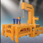 Large size vertical Band saw